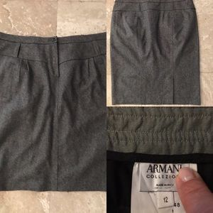 Well Loved Armani Wool Skirt